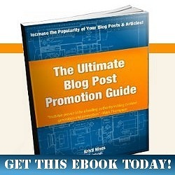 Blog Post Promotion Guide by Kristi Hines of Kikolani.com