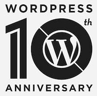 Happy 10th Anniversary WordPress