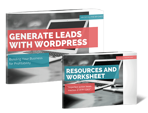 generate leads with wordpress