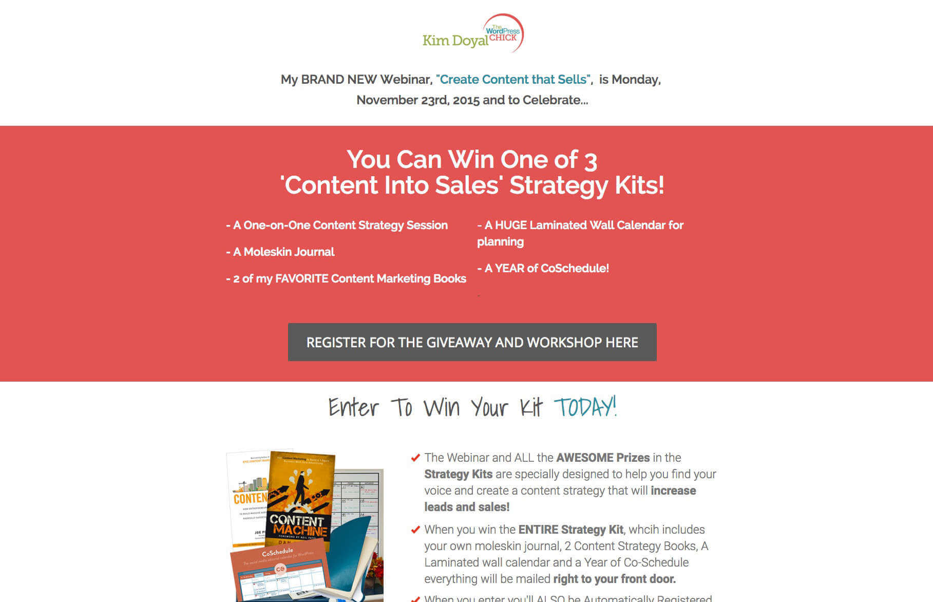 thrive course grow your business wordpress wordpress business giveaway page template