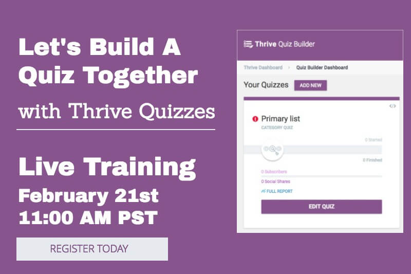 Thrive Quizzes