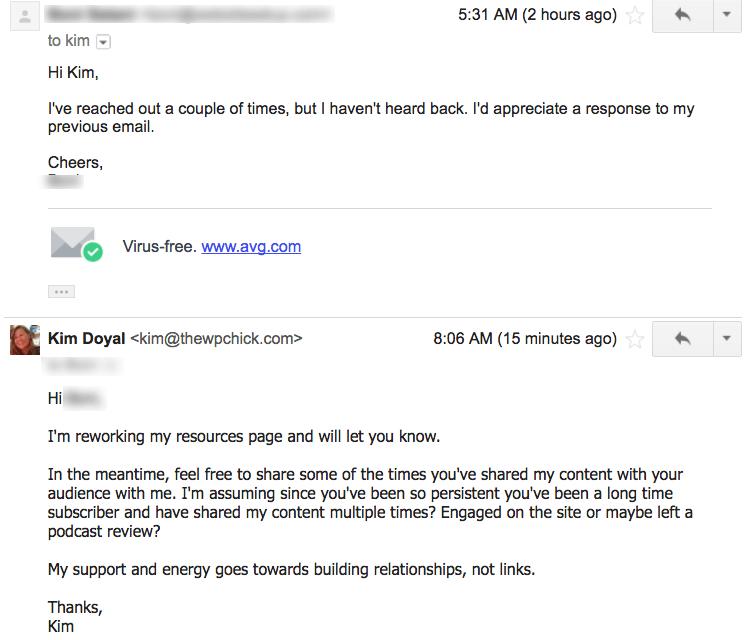 email fodder