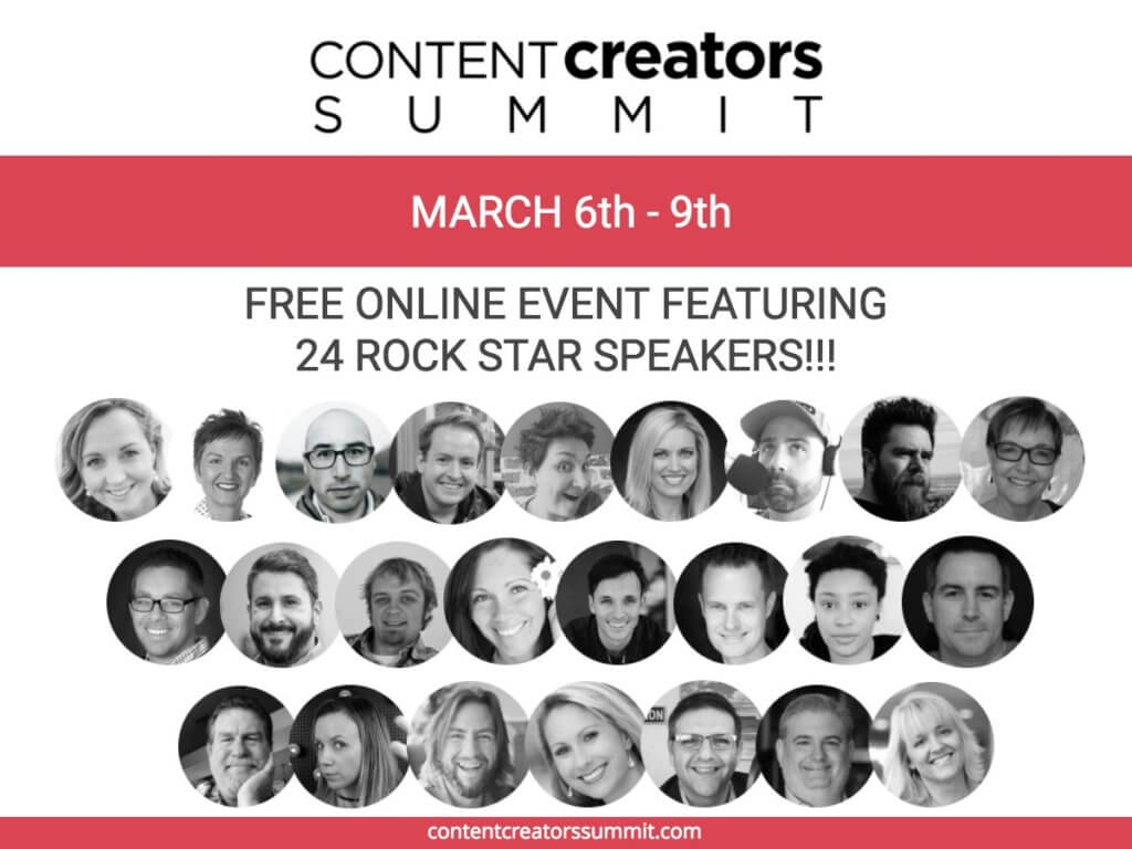 Content Creators Summit