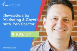 Newsletters with Josh Spector