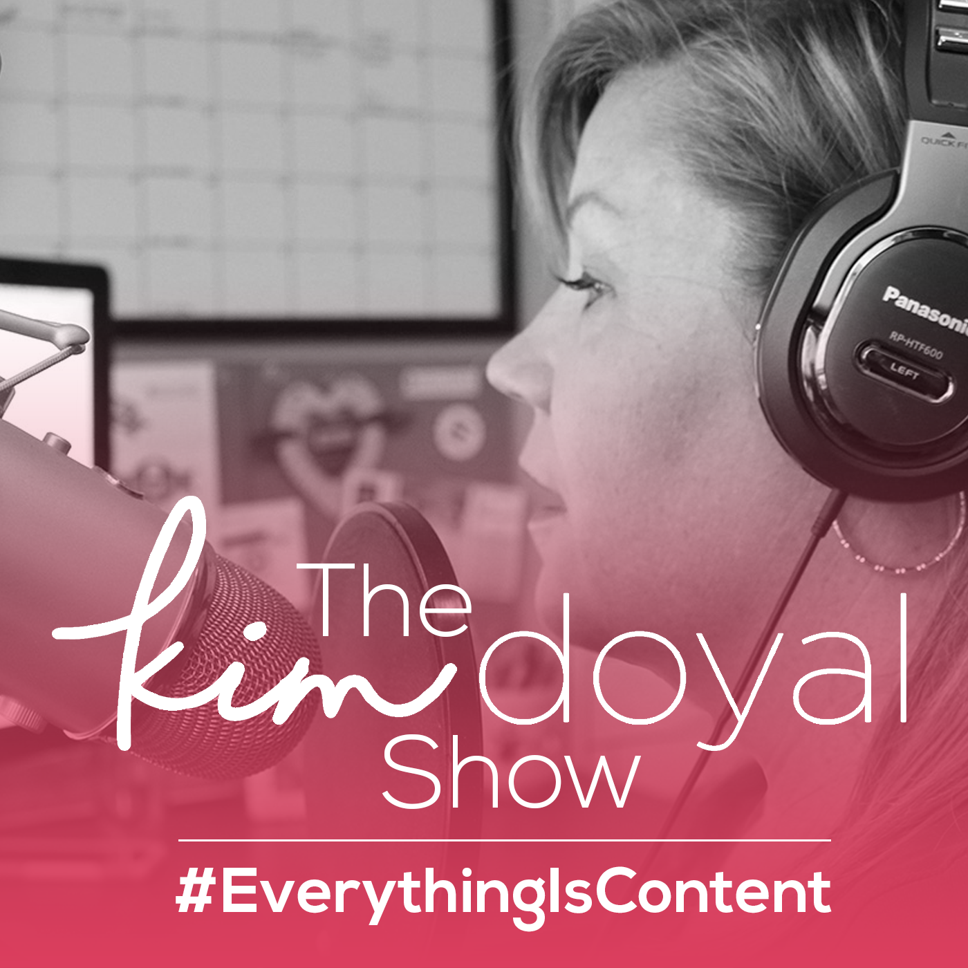 The Kim Doyal Show (pink) 1400x1400