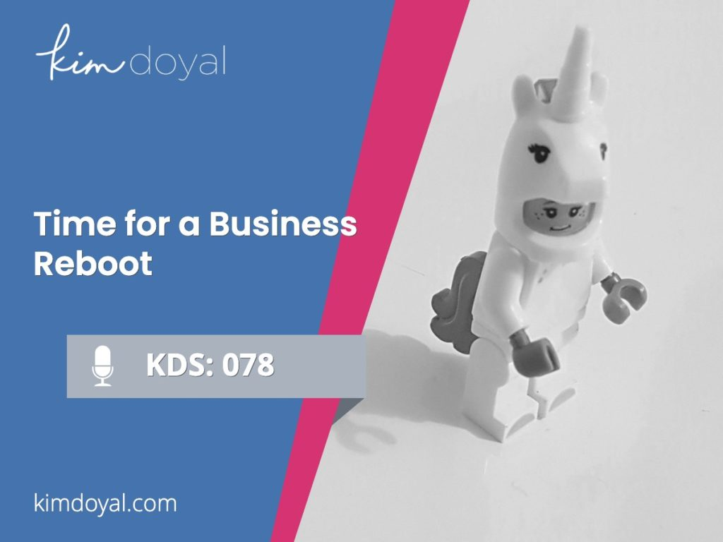 business reboot